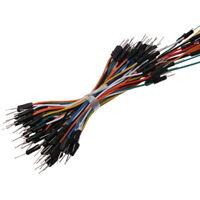 75 x Flexibel Jumper Wire Kabel Dupont Steckbrücken Drahtbrücken für Breadboard