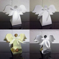 Angel Favour Box Christmas Tree Decoration - Choose Quantity - Choose Colour