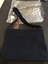 the sak crochet bag Handbag Dark Blue Large
