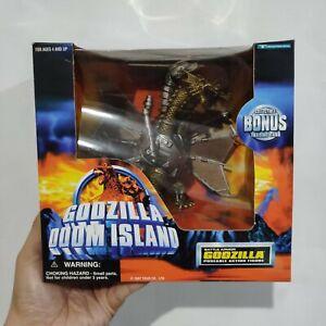 "1997 Trendmasters super rare Godzilla Doom Island ""BATTLE ARMOR KING GHIDORAH"""