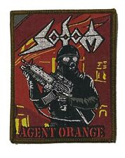More details for sodom - agent orange - woven patch sew on teutonic thrash metal brown edging