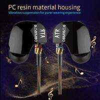 KZ ATR In-Ear Earbuds HIFI Super Bass Earphone Headset Sport Headphone W/Mic