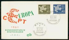 Mayfairstamps Germany Fdc 1961 Cover Europa Cept Combo wwk31111