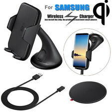 Qi Wireless Charger Charging Car Mount Holder for Samsung Galaxy Note 8/S8/S7  Y