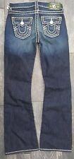 $156 NEW True Religion Jeans Big Kids Boys BILLY CONTRAST ARMY JEANS US Size 10