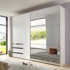 Schwebetürenschrank Level 36 Kleiderschrank Schrank in weiß mit Spiegel 250 cm