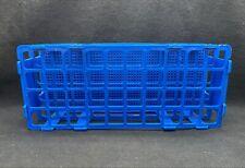 Bel Art Unwire 40 Place 16 20mm Blue Acetal Plastic Test Tube Rack F18747 0002