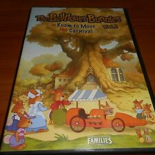 The Bellflower Bunnies Vol 1 (DVD, 2005) Used Room To Move/Carnival Animated