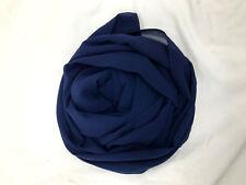 Elegant High Quality Chiffon Hijab Scarf  Sarong Shawl Wrap Plain Maxi