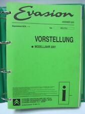 Werkstattbuch Reparaturleitfaden Schaltpläne CITROEN EVASION und JUMPY #17030