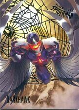 Spiderman Fleer Ultra 2017 Silver Parallel Base Card #26 Darkhawk