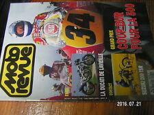 µ?  Moto Revue n°2999 Poster GP de France Suzuki 200 TSR  Ducati 888 Corsa