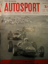 Autosport September 7th 1962 *Oulton Park Gold Cup & Liege Sofia Liege Rally*