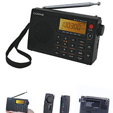 C Crane CC Skywave AM, FM, Shortwave, Weather and Airband Portable Travel Rad...