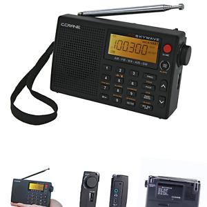 C Crane CC Skywave AM, FM, Shortwave, Weather and Airband Portable Travel Rad...