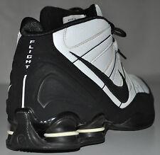Nike Shox High-Top Black & White Flight 2008 Basketball Shoes 333491-101 Size 12