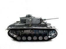 100% Metal Mato 1/16 Panzer Iii Rtr Rc Tank Bb Shooting Pellet Metal Clolor 1223