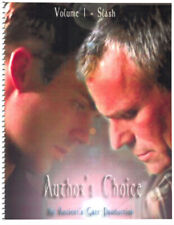 "Stargate Fanzine ""Ancient's Gate 1: Author's Choice"" SLASH"
