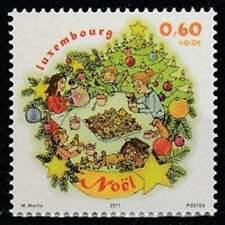Luxemburg postfris 2011 MNH 1930 - Kerstmis / Christmas