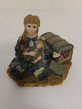 "Yesterday's Child The Dollstone Collection 1995 Jennifer With Pricilla 3""x4"""