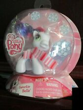 My Little Pony Sweetie Belle Nip Hasbro 2009 Unicorn Pony with Scarf