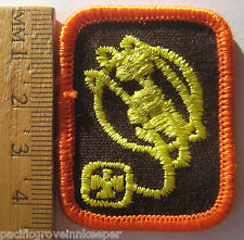 Girl Guide Canadian 1990's Brownie WORLD FRIENDSHIP OUTLOOK BADGE Patch Canada