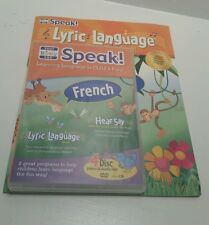 Your Baby Can Speak French!  Hear Say Lyric Language 4 Disc DVD CD Set