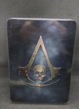 Assassin's Creed IV (4) Black Flag Skull Edition - Xbox 360 in Tin Box