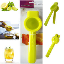 Hand Held Lemon Squeezer Citrus Juicer Green Lime 19CM Solid Plastic Food Prep