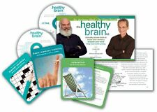 The Healthy Brain Kit 2 CD + Worbook + Cards Gary Small Andrew Weil