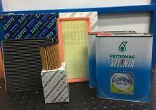KIT TAGLIANDO 3 FILTRI 4LT OLIO FIAT PANDA 0.9 TWIN AIR NATURAL POWER DAL 2012
