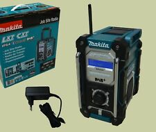 Makita digital Baustellenradio DMR112 DAB+ und Bluetooth inkl. Netzteil