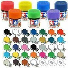 WWS Tamiya Acrylic Paints - X + XF Full Range 10ml Model Paint Jars