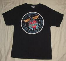 Bon Jovi Circle Tour North America 2010 T Shirt Tee - Black, Size M Medium