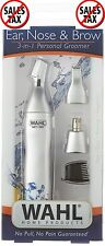 Wahl 5545-400 3-in-1 Wet/Dry Personal Ear Nose and Brow Hair Trimmer Shaver NEW