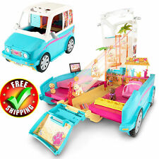 Barbie Camper House Puppy Pet Car Vehicle Furniture Accessories Dream Playset