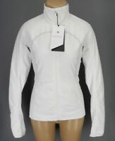 NEW LULULEMON Run For Cold Jacket Full Zip 4 6 8 10 12 White Primaloft FREE SHIP