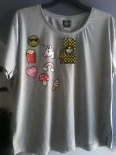 SMILEY WORLD T-SHIRT SIZE 2XL NWT WOMENS