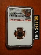 2018 S REVERSE PROOF LINCOLN CENT NGC PF69 RD EARLY RELEASES TROLLEY LABEL