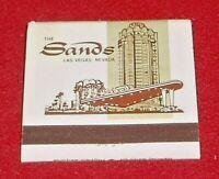Vintage Las Vegas  Sands Hotel Matchbook