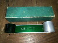 K+E Keuffel Esser ROLSTOP 58 0790 In Original Case Germany RARE Engineering
