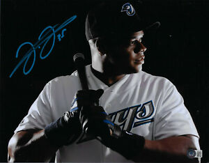 Frank Thomas Blue Jays 500 HR 16x20 Autographed Photo BECKETT WITNESSED COA