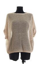 MARC CAIN SPORTS Women's Beige Sweater Size N4
