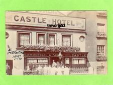 Fosters Castle Hotel Folkestone 1906 RP pc used Ramsgate 1913 Ref A855