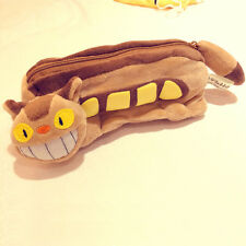 My Neighbor Totoro Cat Bus Soft Pencil Case Plush Toy Cosplay Props Gift Kids