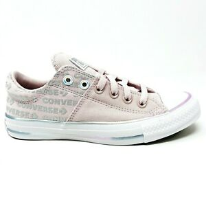 Converse Chuck Taylor All Star Madison Ox Barely Pink Wordmark Womens 566103C