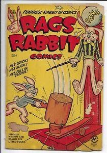 Rags Rabbit #11 1951 Harvey Golden Age Comic Book