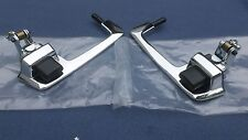 1968 68 1969 69 Plymouth Dodge B-body DOOR HANDLE Pair w/ Black Buttons USA-made