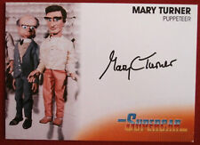 SUPERCAR - MARY TURNER - PUPPETEER - AUTOGRAPH CARD MT1 Unstoppable Cards 2017