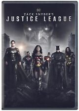 Zack Snyder's Justice League (Dvd) Brand New Sealed Free Shipping Snyder Cut Dc